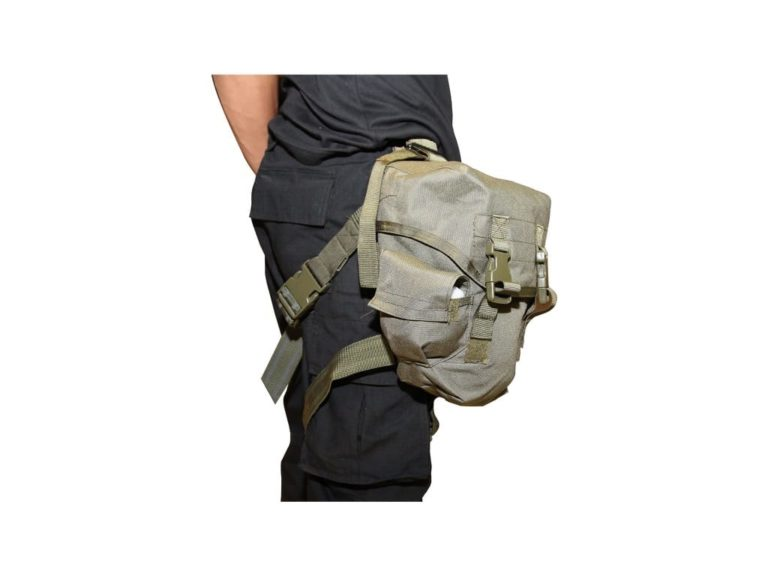 Drop Leg Gas Mask Pouch PM-002