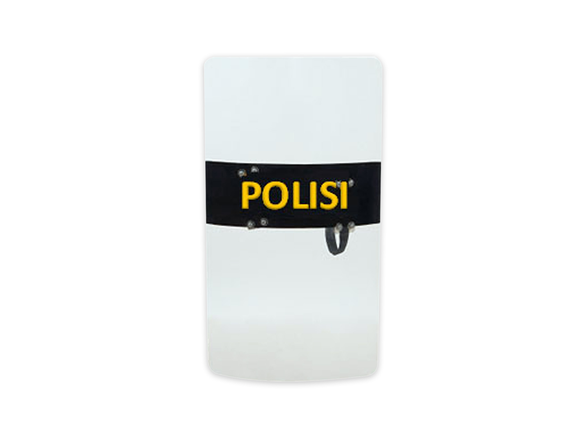 ANTI-RIOT POLYCARBONATE SHIELD
